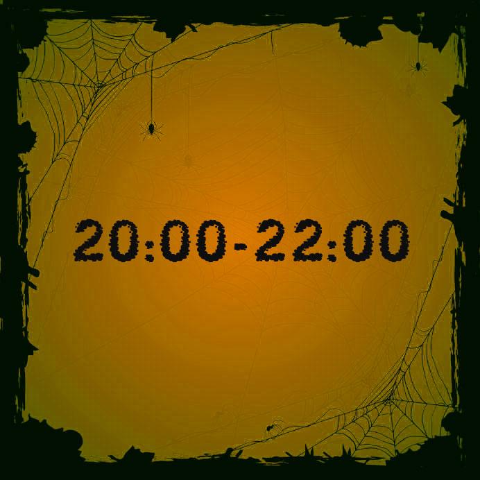 20:00 - 22:00 (leeftijd 8+)
