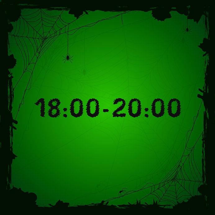 18:00 - 20:00 (leeftijd 4+)
